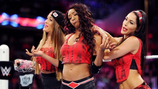 Ashley Massaro vs Nikki Bella vs Becky Lynch