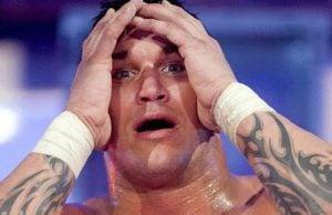 Randy Orton sad
