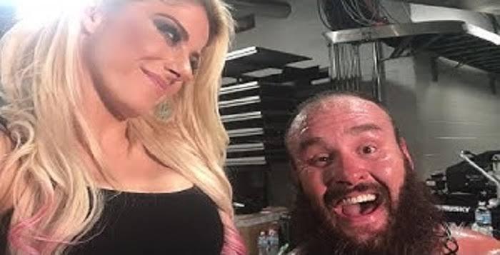 Alexa Bliss and Braun Strowman