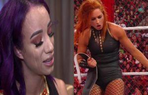 Sasha Banks Injury Following Becky Lynch Match