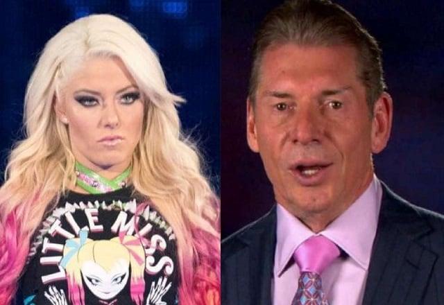 Alexa Bliss WWE Star and Vince McMahon