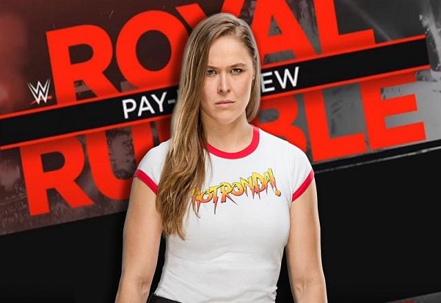 Ronda Rousey Current Royal Rumble Status