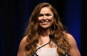 Ronda Rousey WWE UFC Star Champion