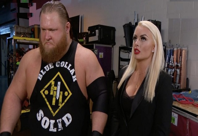 WWE Stars Mandy Rose and Otis