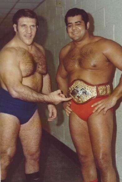 Bruno Sammartino and Pedro Morales