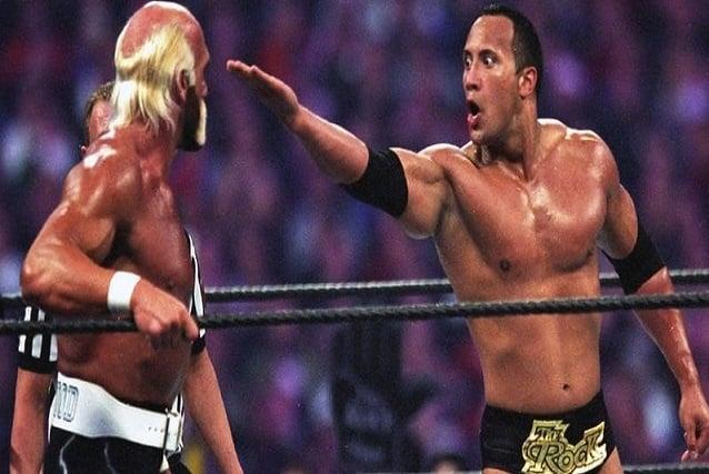 The Rock and Hulk Hogan