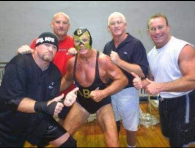 Bob Armstrong with team