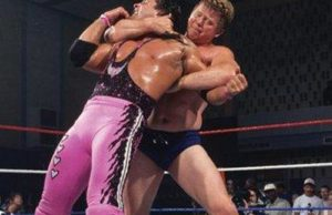 Bob Backlund and Bret Hart