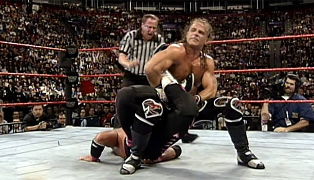 Bret Hart fight