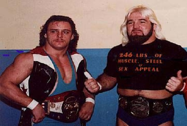The Dynamite Kid and Rip Oliver