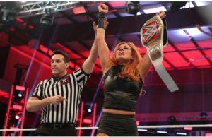 Becky Lynch won