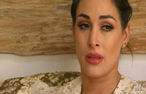 Brie Bella crying