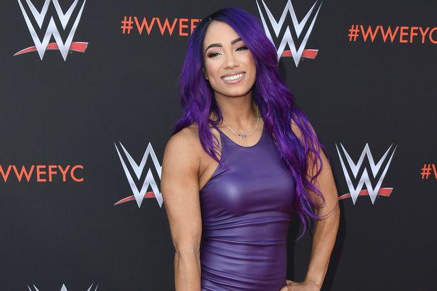 Sasha banks smile