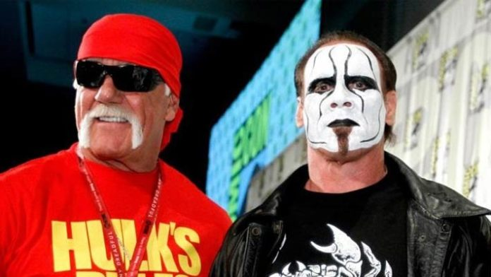 Sting and Hulk Hogan