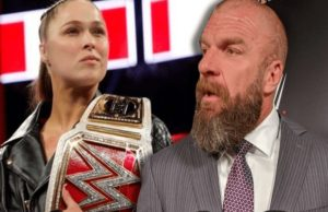 Triple H and Ronda Rousey
