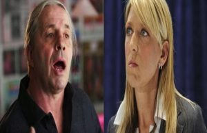 Bret Hart and Martha Hart