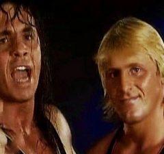 Bret Hart and Owen Hart