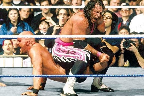 Bret Hart wasn't the typical main eventer with huge size, but he had star power and was a hero to many fans in the 1990s