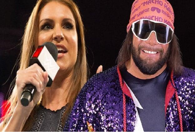 Randy Savage and Stephanie McMahon WWE