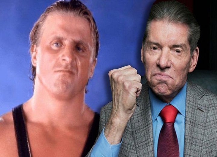 Vince McMahon and Owen Hart