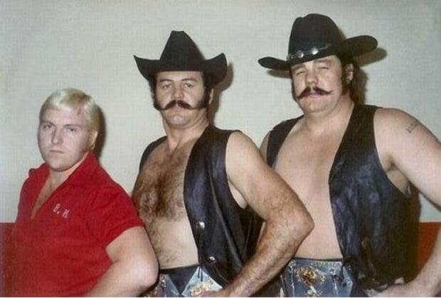 Blackjack Mulligan and Bobby Heenan