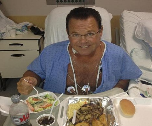 Jerry Lawler Has heart attack, Goes to hospital