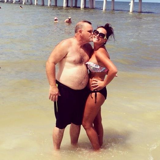 Jerry Lawler, girlfriend Lauryn McBride