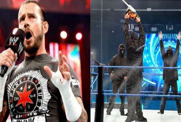 CM Punk reveals Members Of WWE Retribution Faction