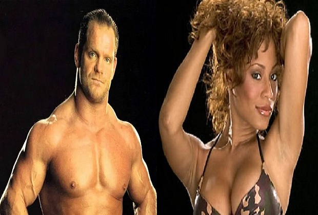 Chris Benoit and Kristal Marshall