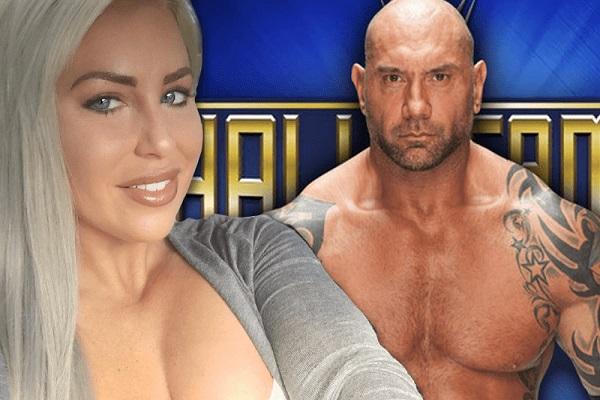 Dave Bautista and WWE star Dana Brooke are dating