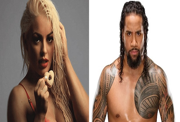 Mandy Rose and Jimmy Uso