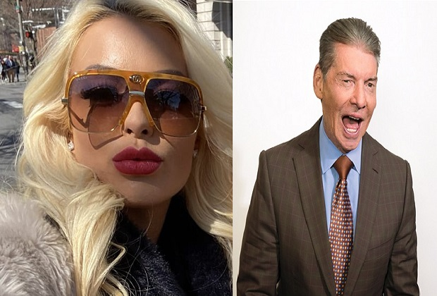 Mandy Rose and Vince McMahon
