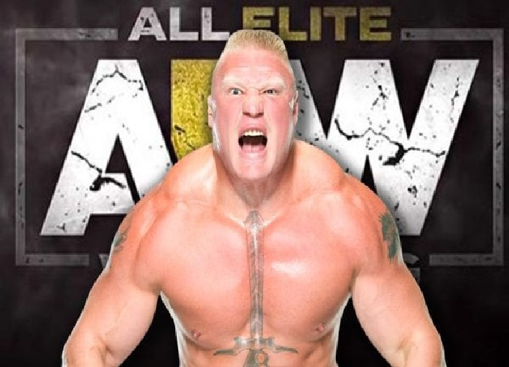 AEW Not Talking About Possible Negotiations With Brock Lesnar