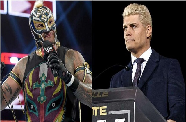 Cody Rhodes and Rey Mysterio