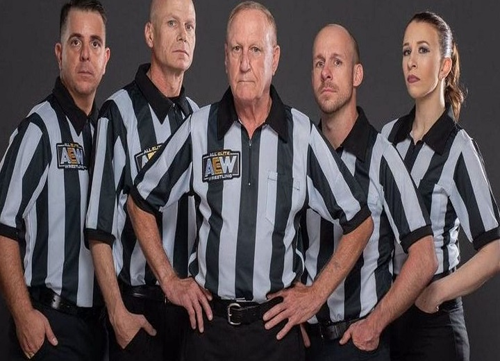 Former WWE Referee Slams Illogical AEW Officiating
