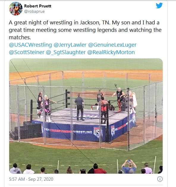 Jerry Lawler celebrated 50 years as a pro wrestler by winning a cage match