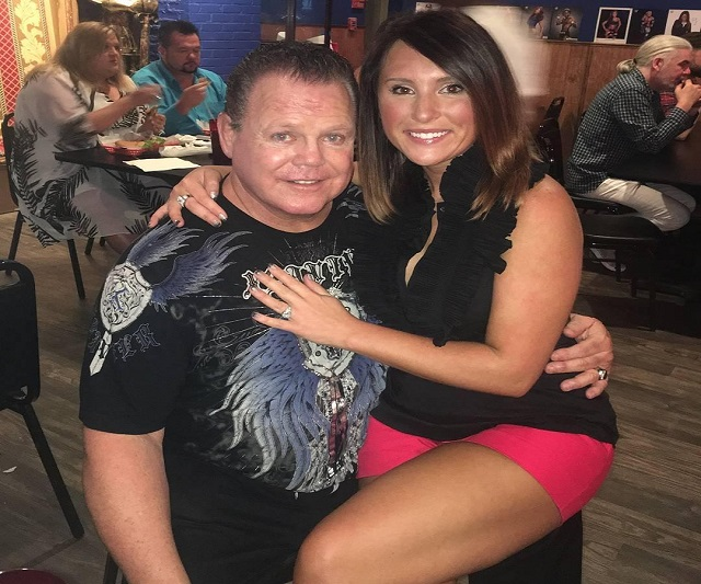 Jerry The King Lawler and wife