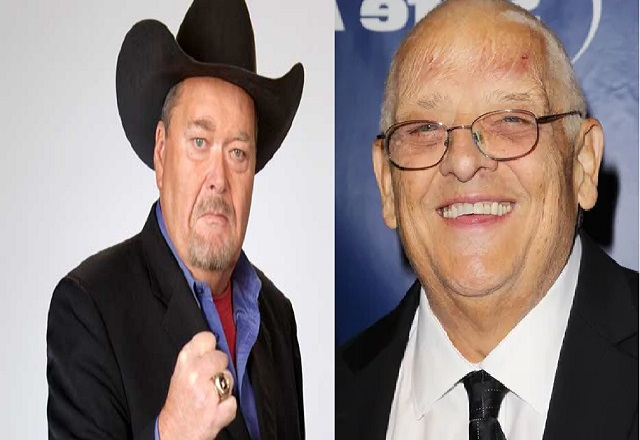 Jim Ross and Dusty Rhodes