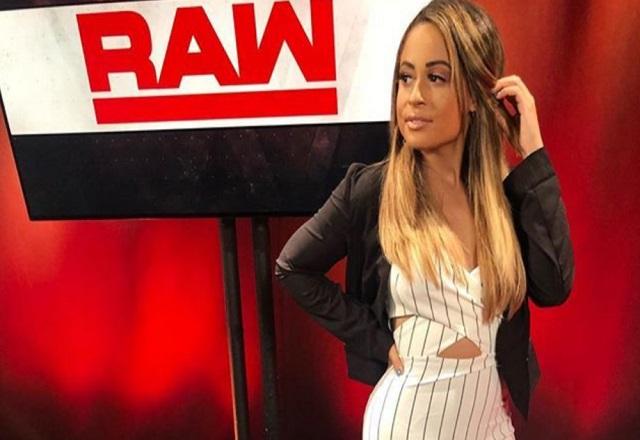 Kayla Braxton WWE RAW