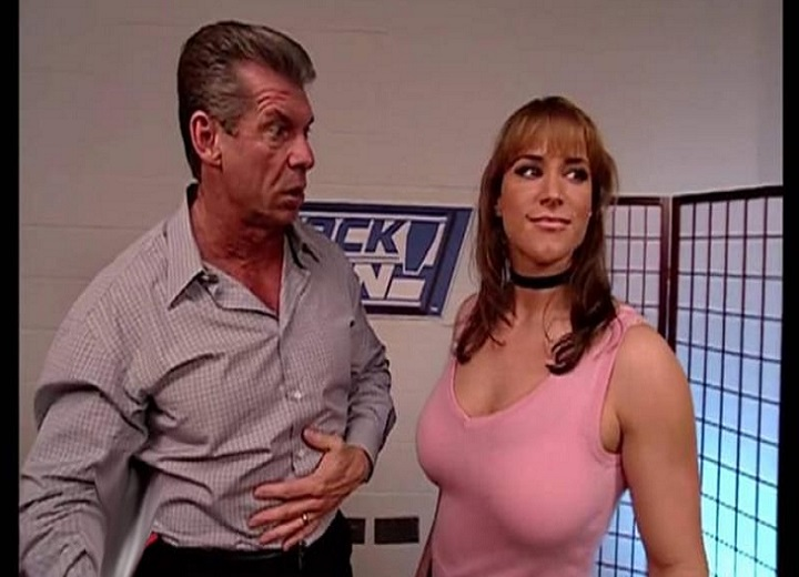 StepStephanie McMahon and Vince Mcmahonhanie McMahon and Vince Mcmahon
