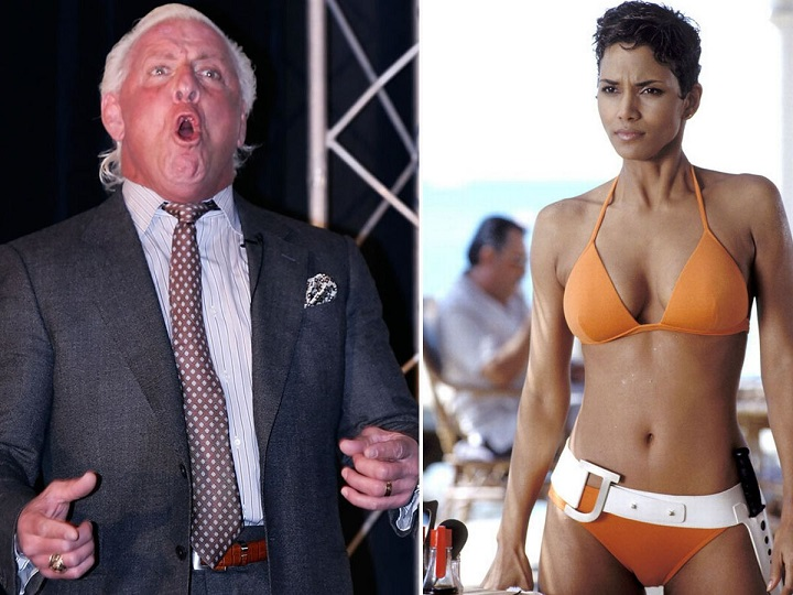 WWE legend Ric Flair claims he had sex with Hollywood superstar Halle Berry