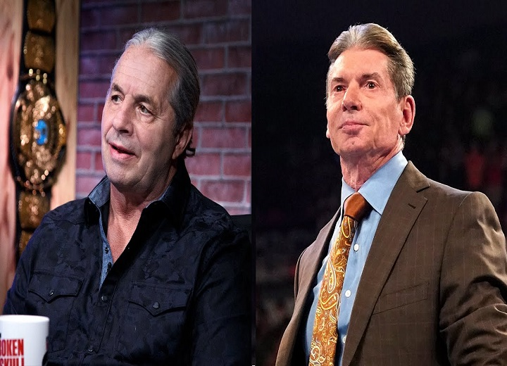 Bret Hart On Telling Vince McMahon