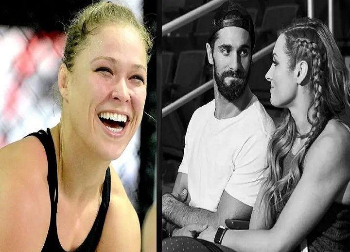 Ronda Rousey takes a major shot at Becky Lynch and Seth Rollins