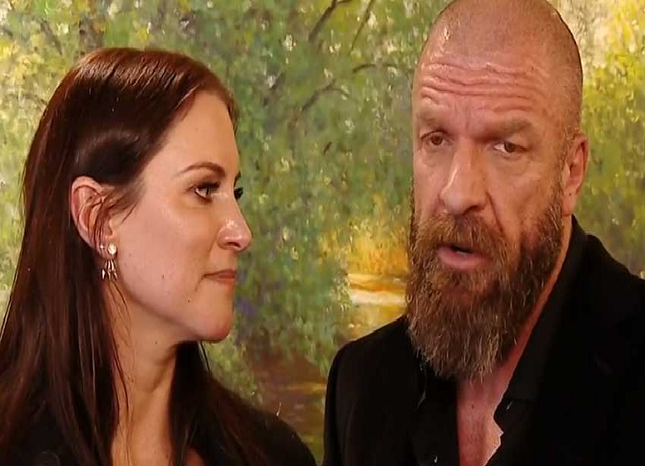 Stephanie McMahon and Triple H WWE
