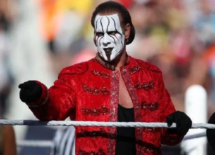 Sting WWE legend