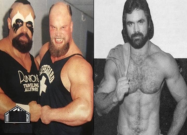 Black Bart on Rick Rude, Barbarian and Warlord in NWA Wresting