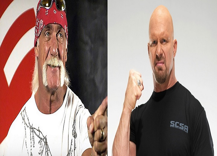 Hulk Hogan and Steve Austin