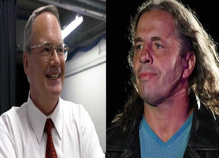 Jim Cornette and Bret Hart