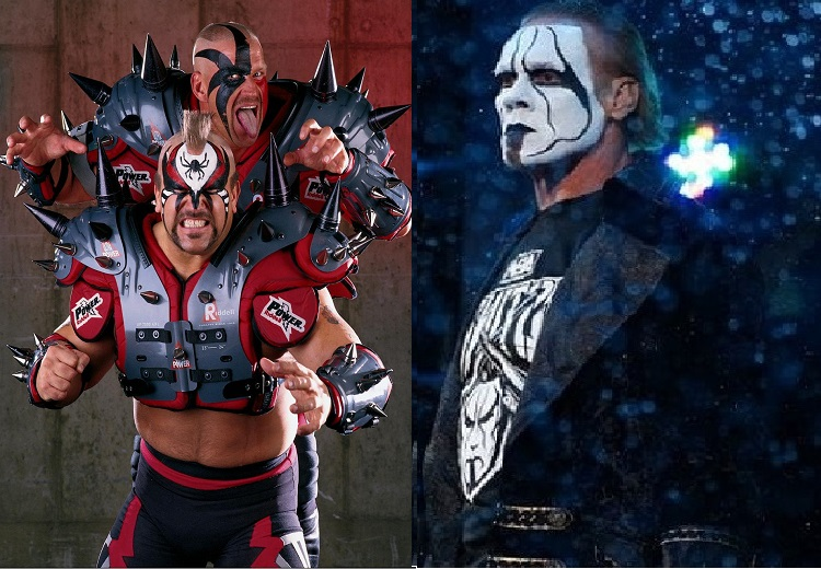 Road Warrior Animal, Hawk and Sting