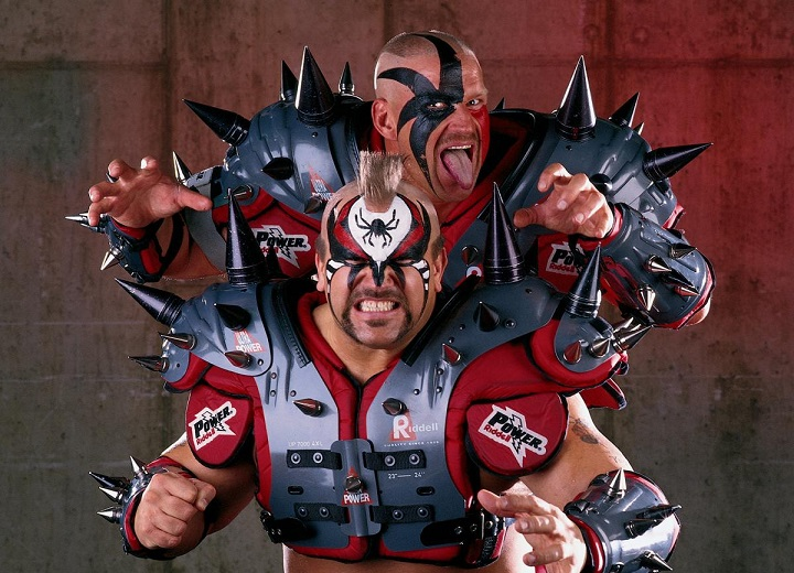 Road Warrior Animal and Hawk